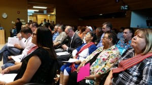 Many rural area supporters and residenst packed the council chambers// Jaryn Vecchio - Harvard Broadcasting